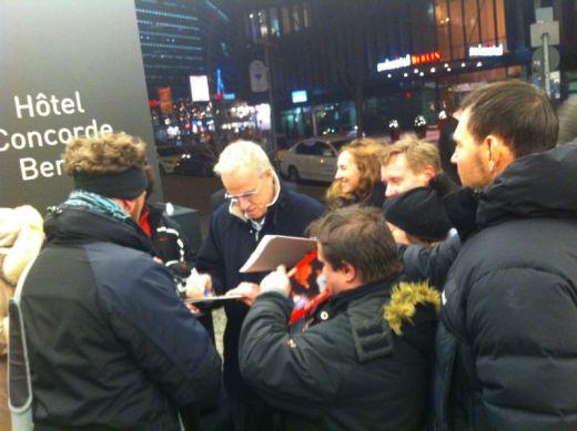 Christophe Lambert meets his fans